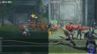 Hyrule Warriors | Switch / WiiU | Тест частоты кадров | Сравнение FPS