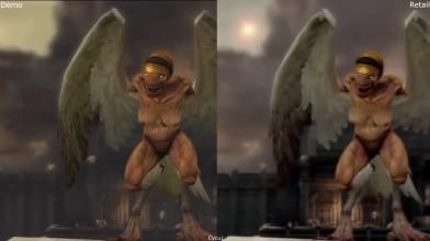 Сравнение графики - God of War 3 E3 2009 Demo vs Retail PS3 (Cycu1)