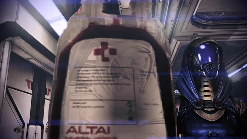 Игрок нашел легкий способ увидеть лицо Тали в Mass Effect: Legendary Edition