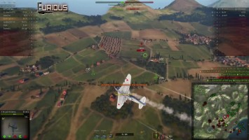 Низко или высоко? Два геймплея в World of Warplanes. Furious  World of Warplanes