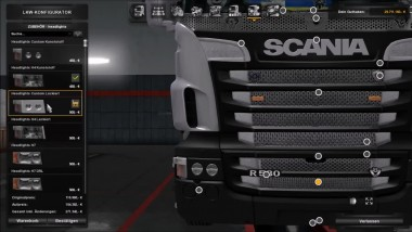 "ETS2 ""Scania R & Streamline Modifications V2.2.1"""