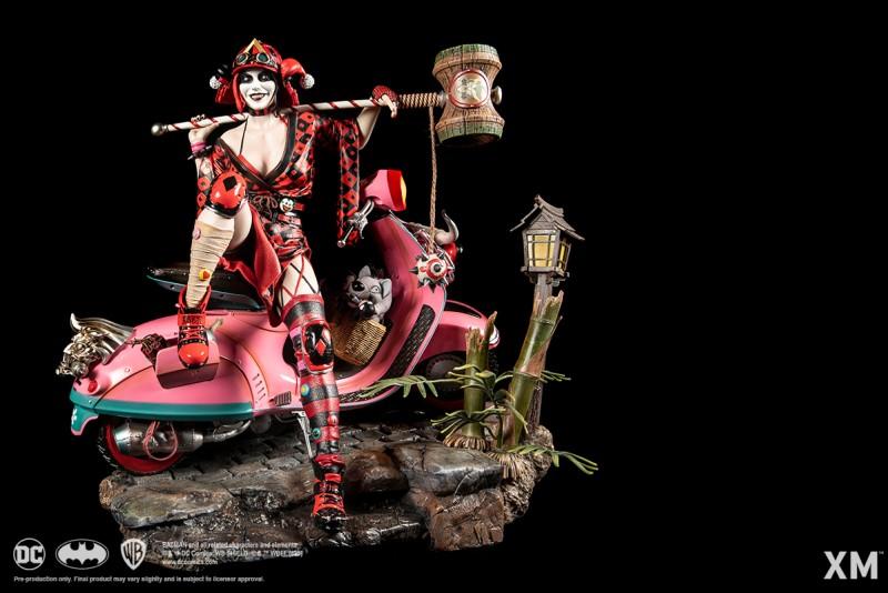 XM Studios анонсировала фигурку Харли Квинн в японской стилистике