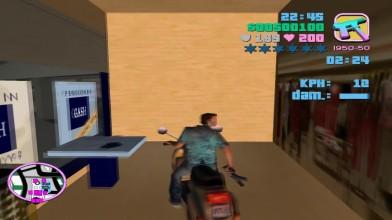 Секретная миссия на мопеде в GTA VICE CITY