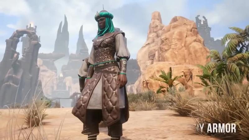 Трейлер дополнения Treasures of Turan для Conan Exiles
