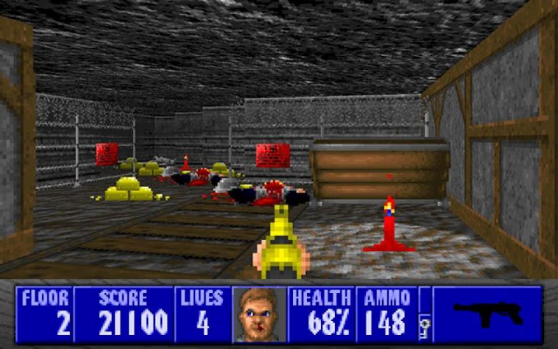 В культовую Wolfenstein 3D добавили 22 новых уровня и улучшили графику