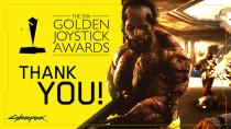 CD Projekt RED поблагодарила всех проголосовавших за Cyberpunk 2077 на Golden Joystick Awards