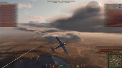"World of Warplanes ""Messerschmitt Bf.109E Emil тащит"""