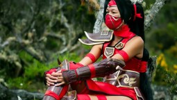 Косплей Akali Crimson - League Of Legends