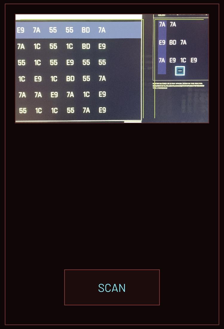 Игрок написал программу для помощи со взломом в Cyberpunk 2077, используя камеру вашего смартфона