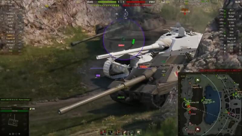 World of Tanks - асвиль. Балкон смерти для СТ. Только для опытных
