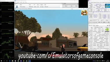 RPCS3 Playstation 3 Emulator - GTA San Andreas HD (2015). Ingame. OpenGL. Test #1