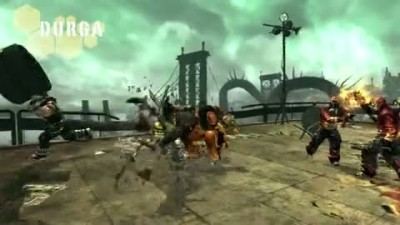 "Anarchy Reigns ""Durga Character Trailer"""