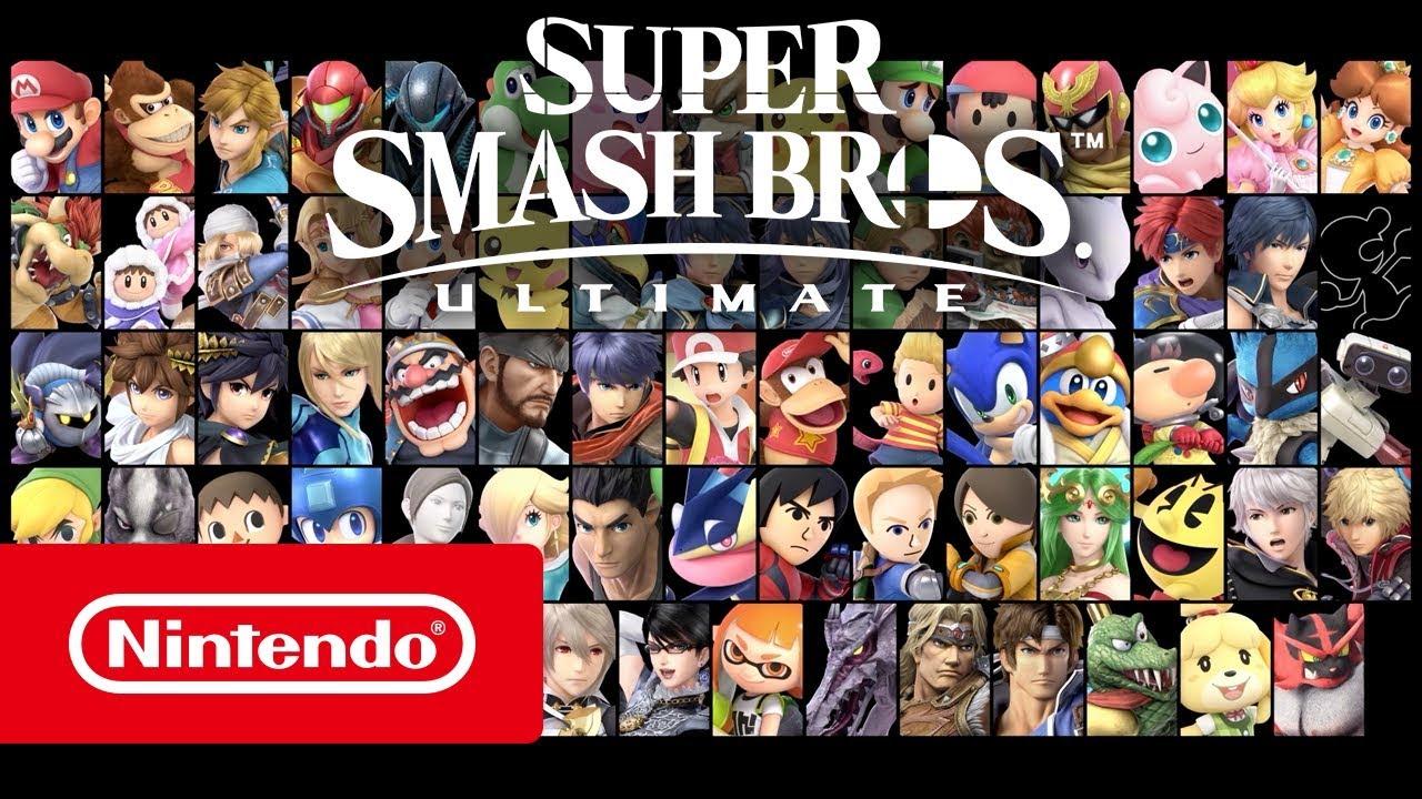 Nintendo анонсировала 35-минутную презентацию Super Smash Bros. Ultimate
