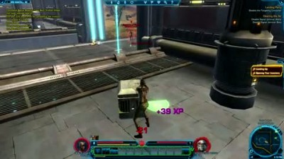 "Star Wars: The Old Republic ""Smuggler Combat Gameplay"""