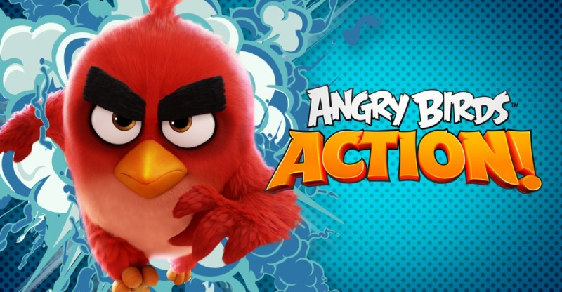 Rovio выпустила игру Angry Birds Action!