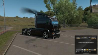 Euro Truck Simulator 2 - KAmAZ 6460 TURBO DIESEL V8