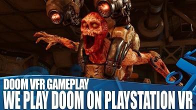 Doom VFR накануне релиза всё ещё выглядит неважно