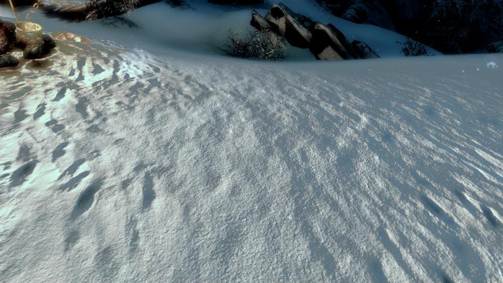 Snow Shader Skyrim
