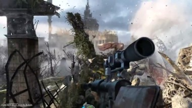 Metro Last Light Redux: Sniper Mission Геймплей