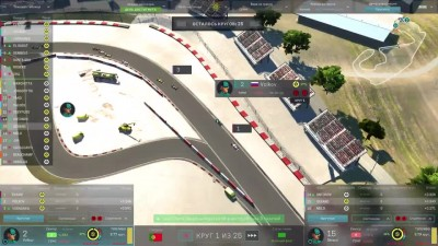 Motorsport Manager PC. Режим карьеры, гонка 8.