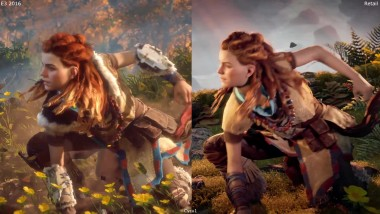 Horizon Zero Dawn Сравнение E3 2016 PS4 vs PS4 Pro 2017 Retail