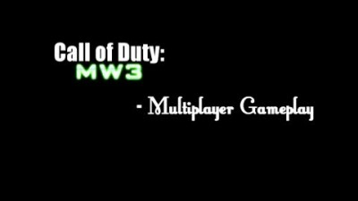 "Call of Duty MW3 ""NEW Multiplayer Gameplay _ Full Team-Deathmatch (32-5)"""
