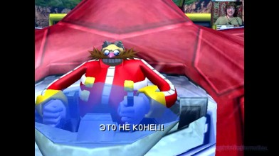 Sonic Heroes - 2. Яйцеорёл и город (прохождение на русском)