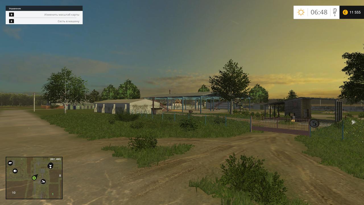 Скачать игру farming simulator 2015 село полевое через торрент