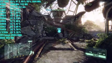 Crysis 0 GTX 0050 OC | 0080p - 000p и 020p Очень высокий - высокий и средний | Фреймрейт ТЕСТ