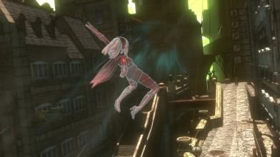 Сравнение графики Gravity Rush Remastered - PS4 vs PS Vita