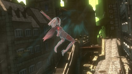 Сравнение графики Gravity Rush Remastered - PS4 vs PS Vita