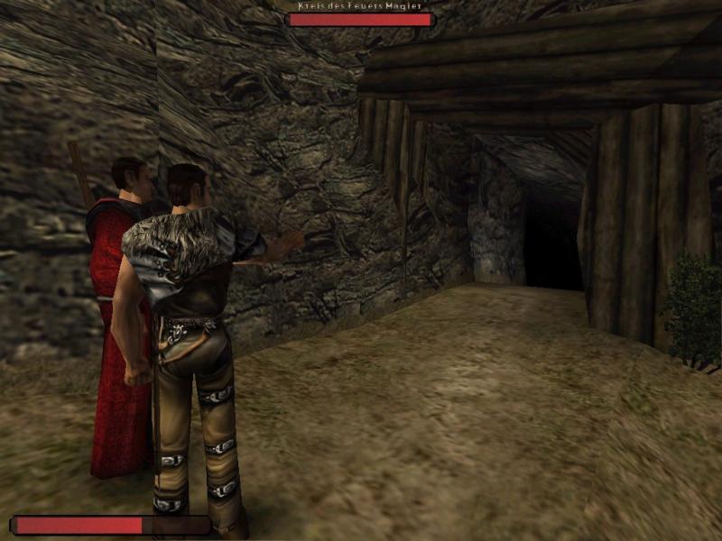 Заброшенная шахта, в которой располагались два квеста по сбору яиц ползунов, а также квест Диего по добыче старого меча. Вырезана из финальной версии