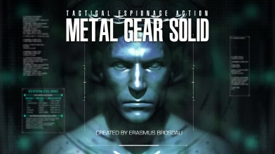 Интро Metal Gear Solid воссозданное Unreal Engine 4