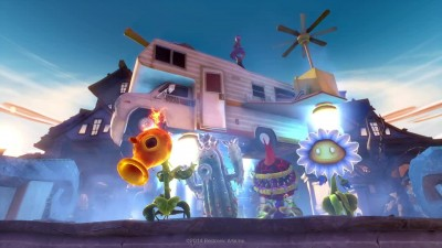 "Plants vs. Zombies: Garden Warfare ""Трейлер Chum Rush"""