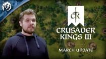 Новое видео Crusader Kings 3 посвящено руководству пользователя, правительству и войне