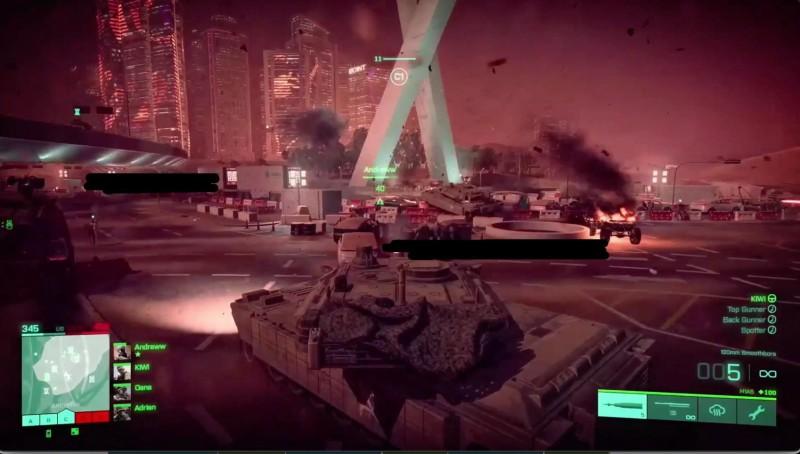 В сеть слили скриншоты геймплея следующей Battlefield