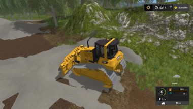 Farming Simulator 17 CAT D6N LGP Crawler Tractor