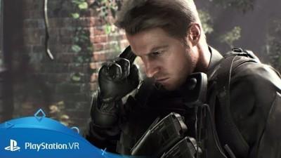 Какую роль сыграл военный эксперт в создании Криса Рэдфилда для DLC Not A Hero игры Resident Evil 7?