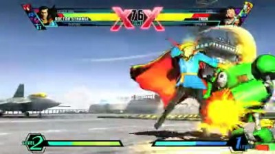 "Ultimate Marvel vs Capcom 3 ""Doctor Strange Trailer"""