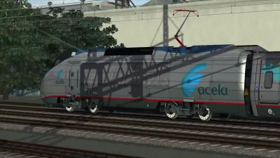 Amtrak Acela Express 140mph Train Simulator