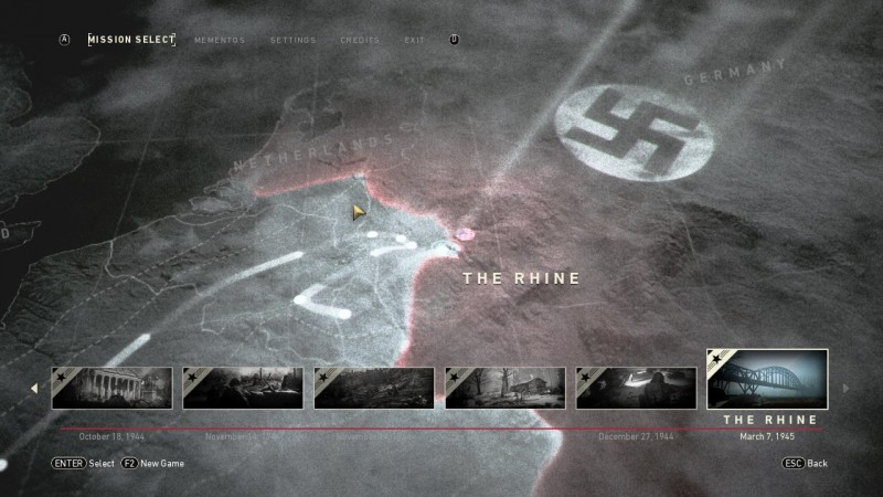 Call of Duty: WWII: Save Game (100% Completed, Veteran) [RLD]