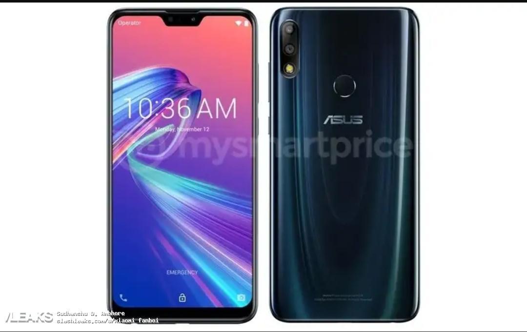 Появилось официальное изображение игрового телефона Asus ZenFone Max Pro M2