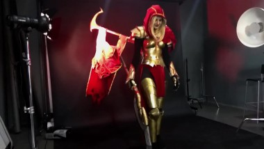 DOTA 2 - LEGION COMMANDER COSPLAY BTS (Косплей)