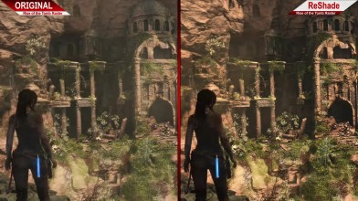 Сравнение | Rise of the Tomb Raider | Original VS ReShade | ULTRA | + BENCHMARK !