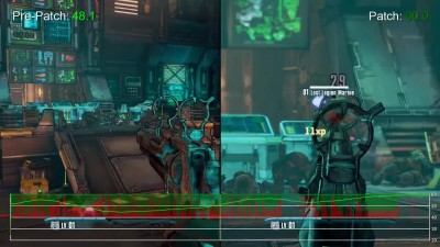 "Borderlands ""PS4 vs Xbox One Patch 1.02 фрейм тест"""