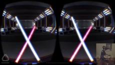 Oculus Rift + световой меч