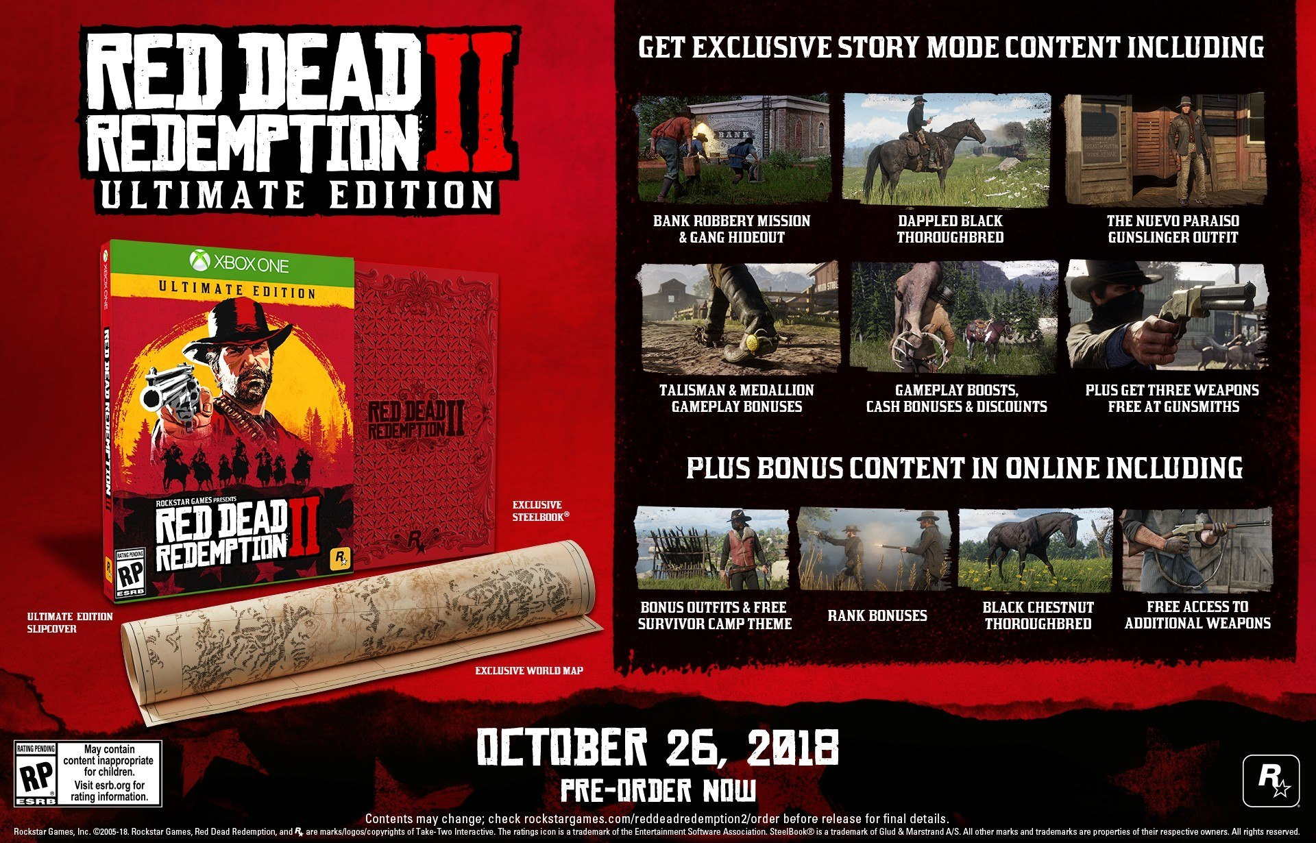 Rockstar поведала обонусах запредзаказ наRed Dead Redemption 2