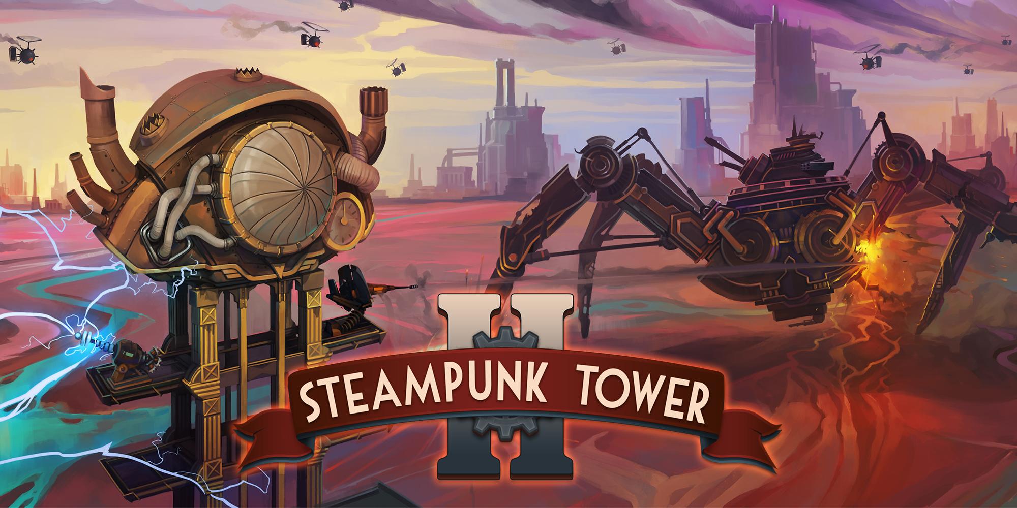 Состоялся консольный релиз Steampunk Tower 2