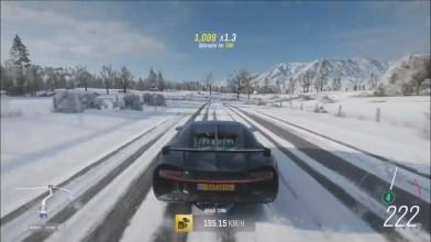Forza Horizon 4 - Bugatti Chiron Snow Offroad | Геймплей