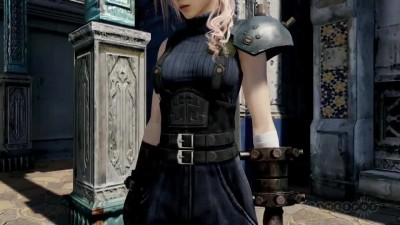 "Lightning Returns: Final Fantasy 13 ""Трейлер DLC костюма Сloud"""